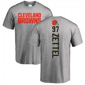 Anthony Zettel Ash Backer - #97 Football Cleveland Browns T-Shirt