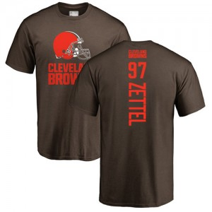 Anthony Zettel Brown Backer - #97 Football Cleveland Browns T-Shirt