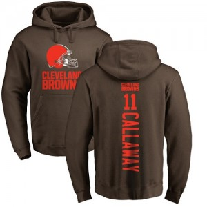 Antonio Callaway Brown Backer - #11 Football Cleveland Browns Pullover Hoodie